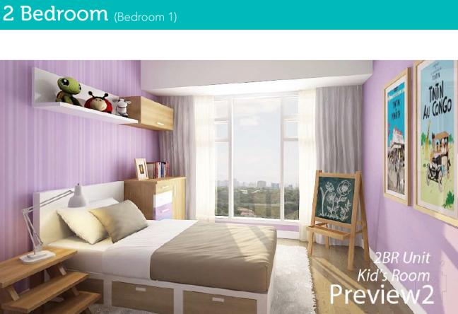 2 Bedroom Bedroom 1