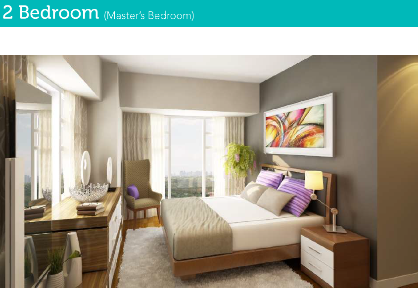 2 Bedroom Masters Bedroom