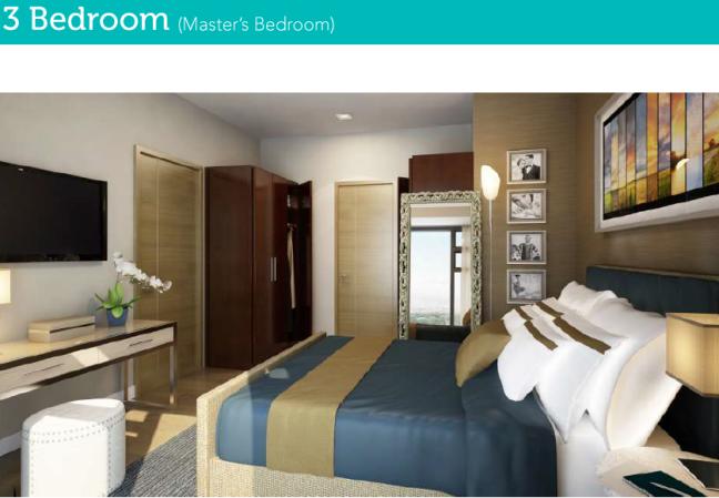 3 Bedroom Masters