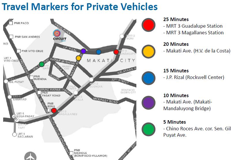 Circuit Makati Location Map