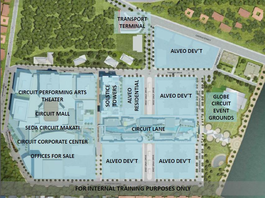 Circuit Makati Site Map