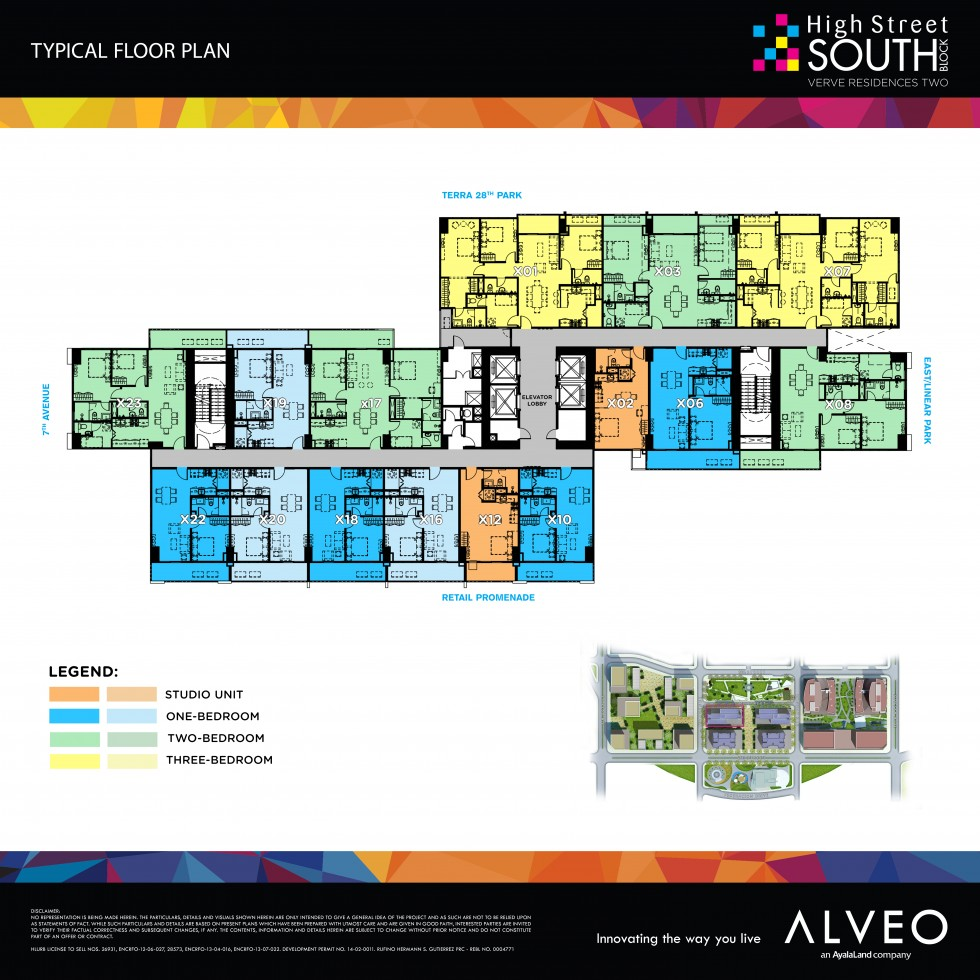 High Street South Verve Residences Alveo By Ayala Land