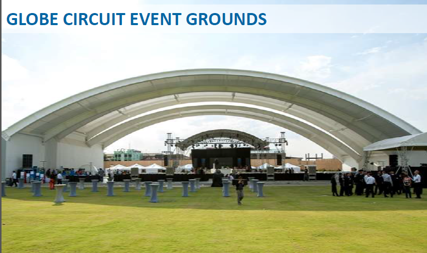 Globe circuit grounds alveo by ayala land - Globe main office address ...