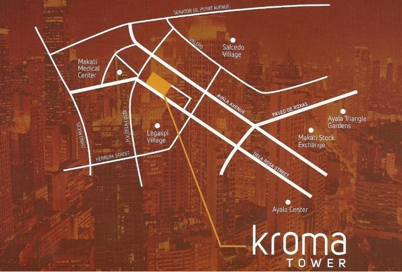 Kroma Location map