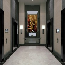 Verve+Residences+GF+Elevator+Lobby