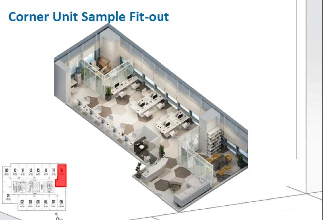 Corner Unit Sample