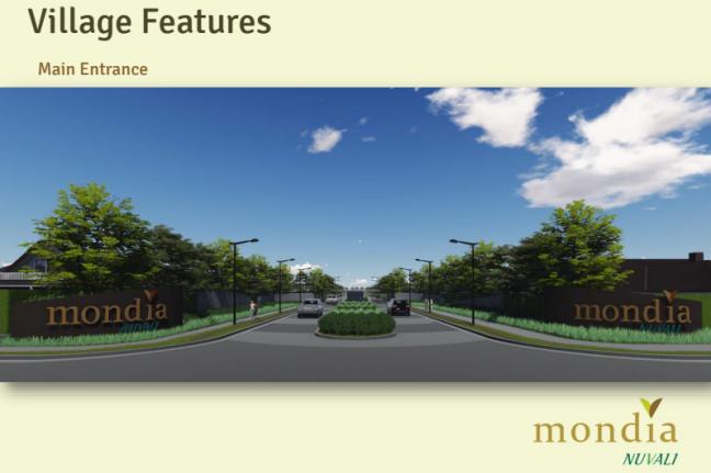 Main Entrance Mondia Nuvali