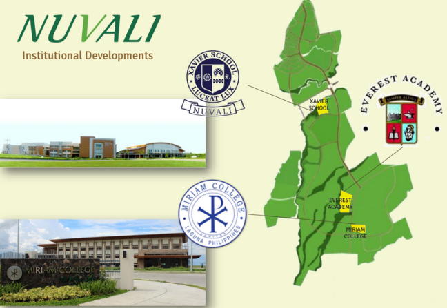Miriam and Xavier Schools in Nuvali
